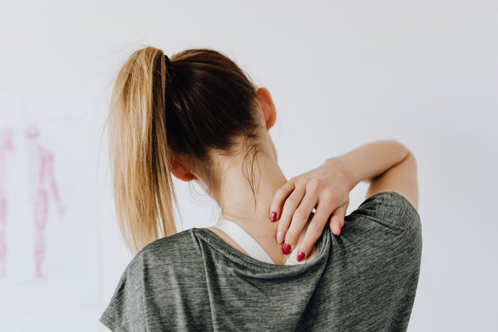 Slipp smärtor i nacke och huvud